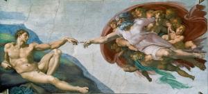 Lukisan Pencipta dan Adam